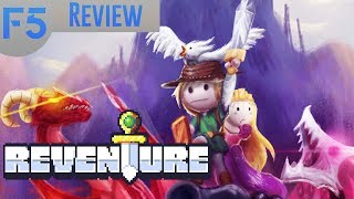 Reventure Review: Farcical, Irreverent, Deadly! (Video Game Video Review)