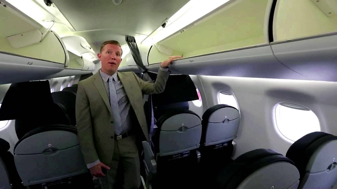 Tour Of New American Airlines Aircraft Youtube