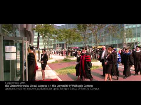 Opening Ghent University Global Campus