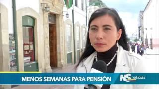 A un debate de ser ley, reducción de semanas de cotizacion para pensión de mujeres