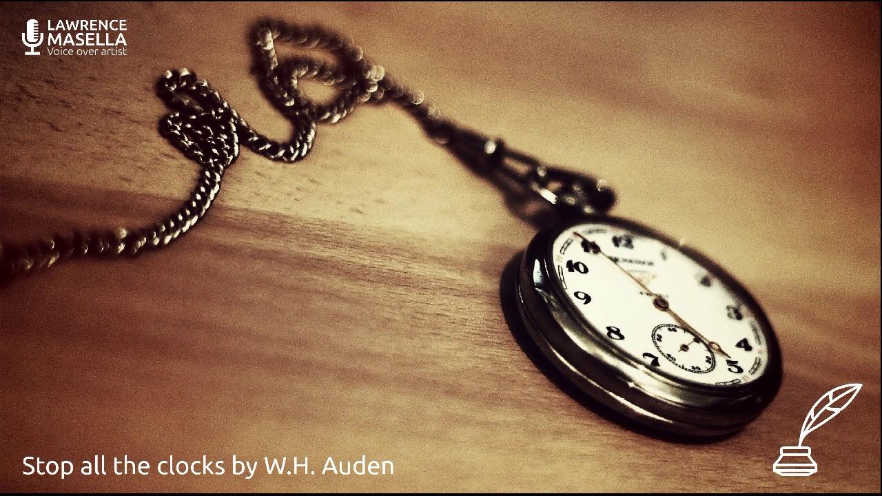 stop the clocks auden