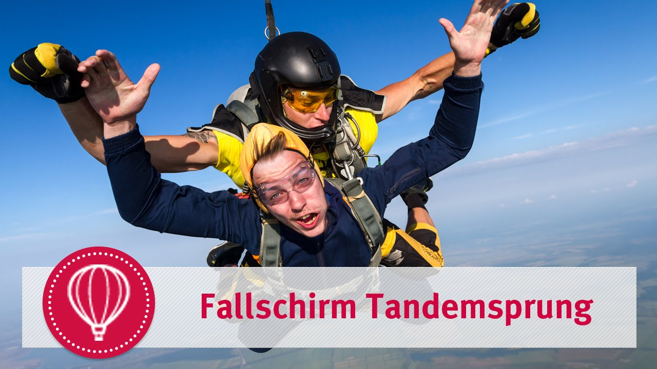 Fallschirmsprung Als Gutschein Vorlagen Muster