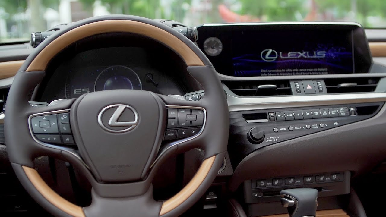 2019 Lexus Es Interior Options