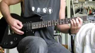 guitar instruction for Def Leppard Comin Under Fire (cover)