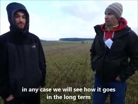 Dialogue between Belgian and Danish organic farmers in the OK-Net Arable project