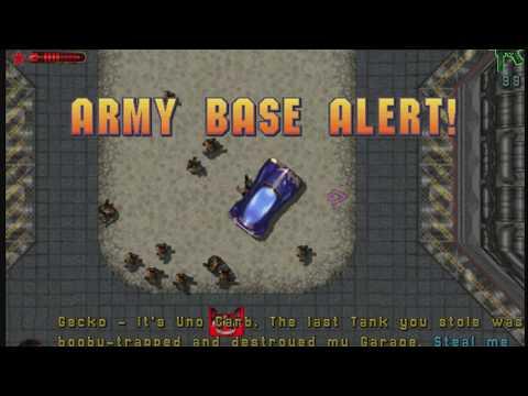 GTA 2: Industrial District - Zaibatsu Job 7 - Army Base Alert! (Walkthrough)