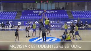EBA - MOVISTAR ESTUDIANTES vs ESTUDIO.- Liga  EBA (6/3/21) #BasketCantera.TV