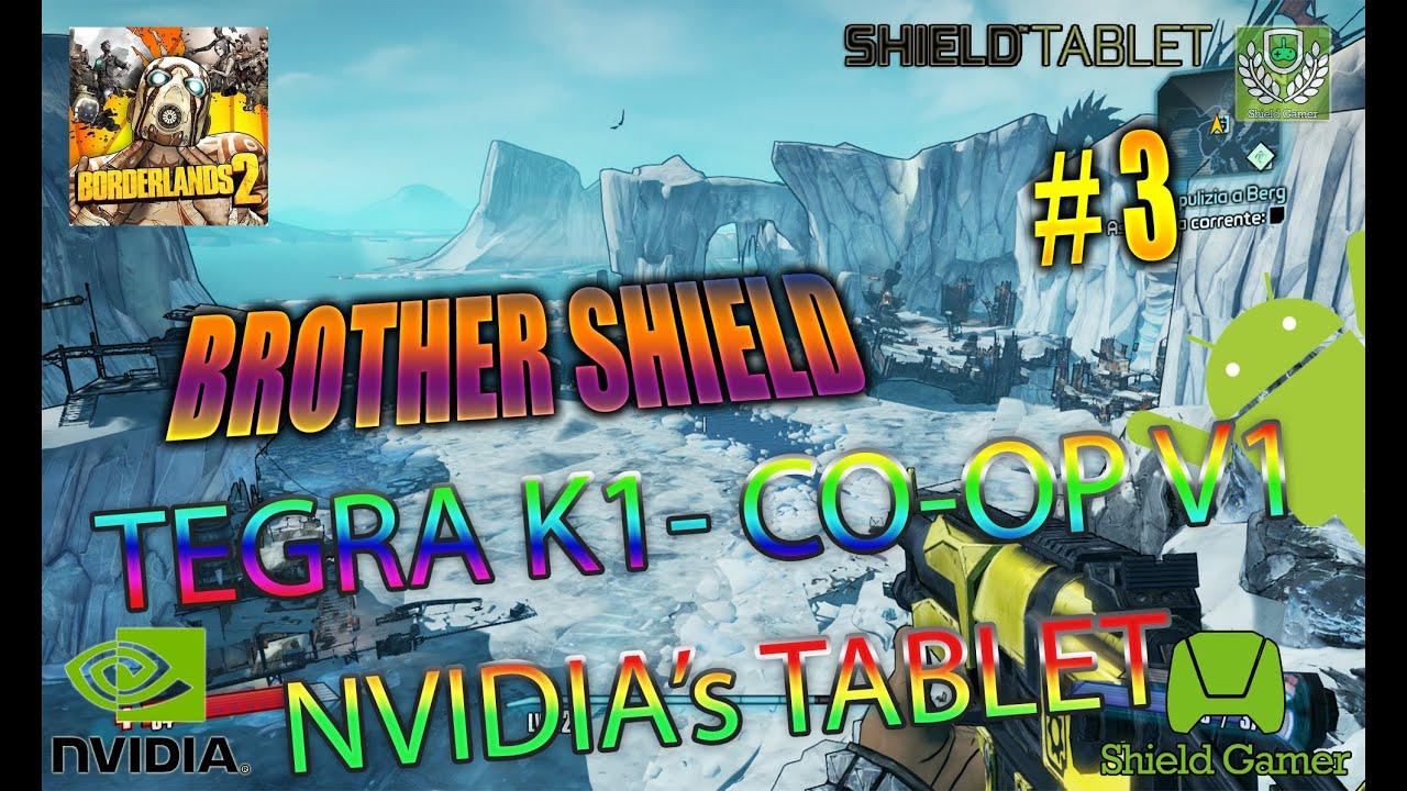 2K Games Inc: Borderlands 2 Nvidia Shield Tablet Walkthrough V3 Co-Op 1  (Tegra K1)