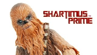 Star Wars Chewbacca The Force Awakens 6 Inch Black Series Episode VII Movie Toy Figure Review