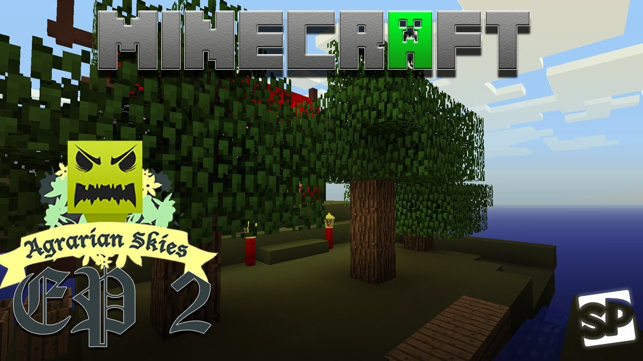 Download Minecraft - Agrarian Skies - EP 2 - Silk Worms and Sieves