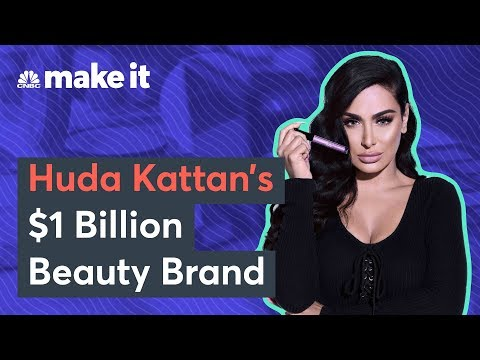 How Huda Kattan Created Her Billion-Dollar Beauty Business