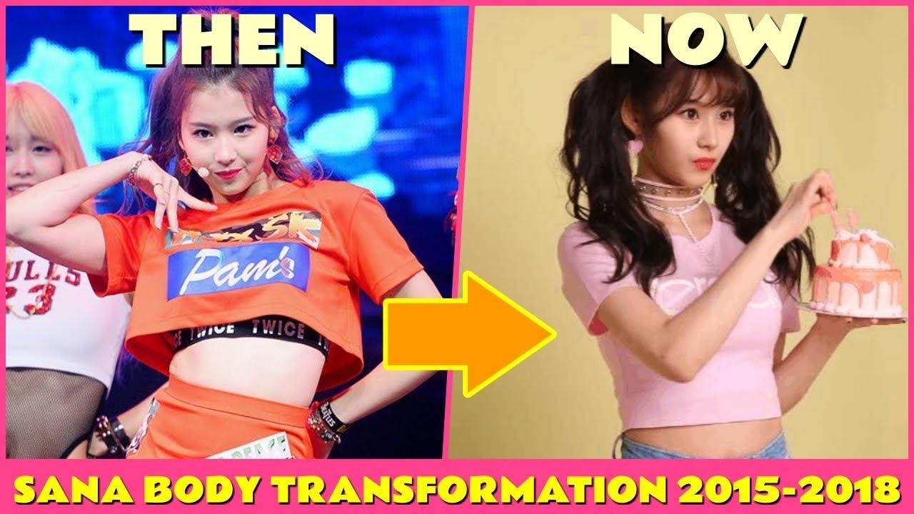 Twice Sana Body