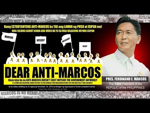 Dear Anti-Marcos - Mr. Riyoh