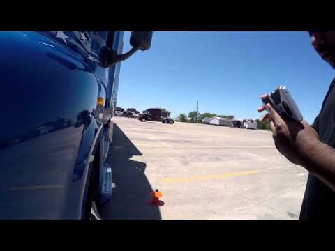 Truck Backing - 45 Degree (Video 1 of 2)