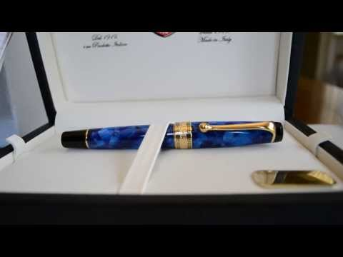 Aurora Optima Fountain Pen Review - Short Video