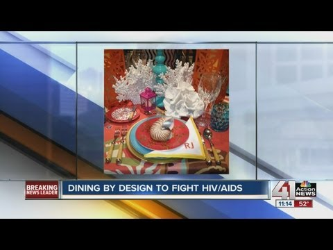 Dining by Design to fight HIV
