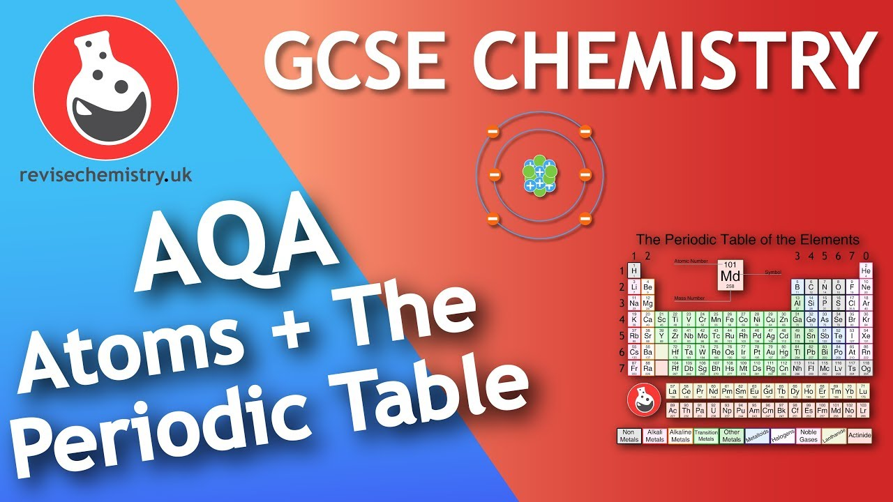 atoms and the periodic table aqa gcse 9 1 chemistry
