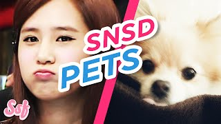 CUTEST Dog & Cat Moments from SNSD (Girls' Generation) Video l @Soshified