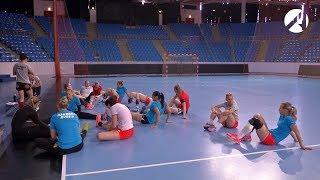 Женская сборная России по гандболу прибыла в Астрахань