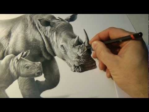 """""""Precious Moments"""" pencil drawing by Richard Symonds"""