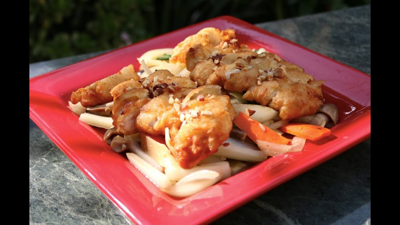 how to make chinese golden fried chicken