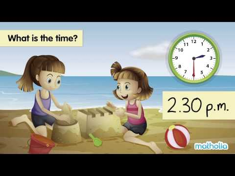 Telling Time (a.m. and p.m.)