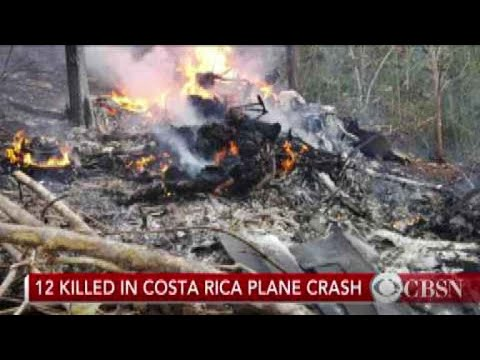 12 killed, including 10 Americans, in Costa Rica plane crash, officials say