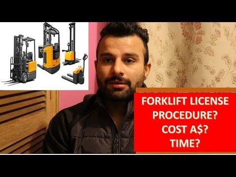 HOW TO GET A FORKLIFT LICENSE||HINDI