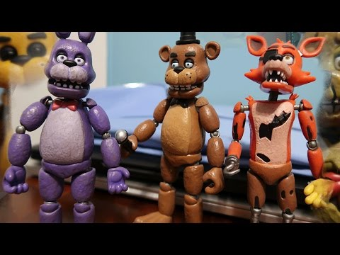 Funko Five Nights At Freddy's Action Figures ALL FIGURES Unboxing/Review!
