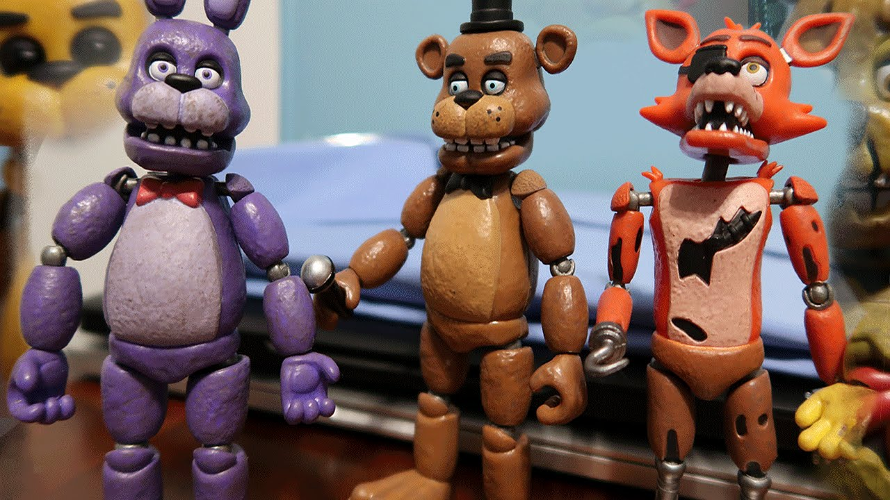 Five nights at freddy s action figures all figures unboxing review
