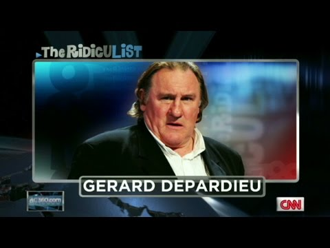 CNN: Gerard Depardieu on Anderson Cooper's Ridiculist