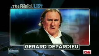 CNN: Gerard Depardieu on Anderson Cooper's Ridiculist