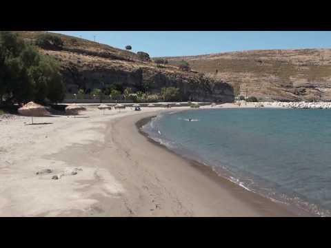 Αη Στράτης 2015 - η παραλία του οικισμού - Agios Efstratios 2015
