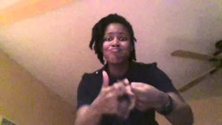 "Yolanda Adams ""The Battle is Not Yours"" / ASL by Pauline Rose Moore -Favoredhands"