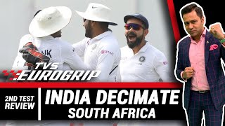 India DECIMATE South Africa   'TVS Eurogrip' presents #AakashVani   Cricket Analysis
