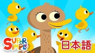 5わのアヒル「Five Little Ducks」 | こどものうた | Super Simple 日本語 thumbnail