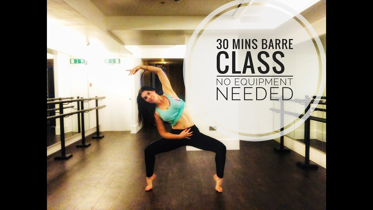 Barre Class to make your legs shake!