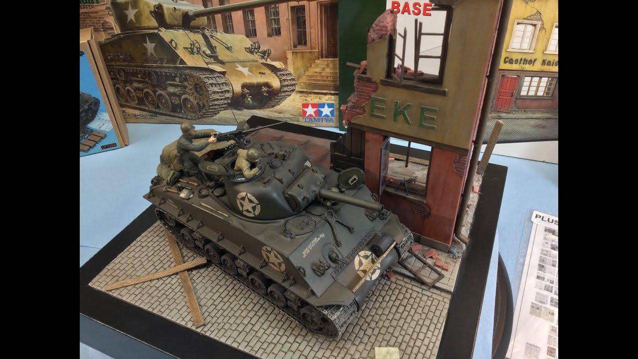 1/35 TAMIYA M4A3 105mm HVSS FINALE