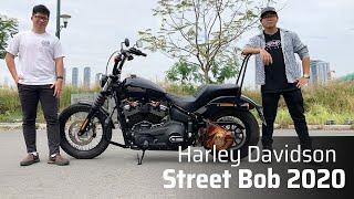 Trên tay Harley-Davidson Street Bob 2020 | Một chiếc Bobber ngon lành