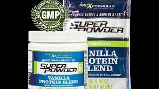 Best Protein Powder Reviews : Superpowder by Pro X Formulas