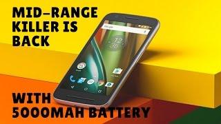 Moto E4 and Moto E4 Plus Rumors expose Moto E4 Plus sports 5000mah battery Midrange Killers