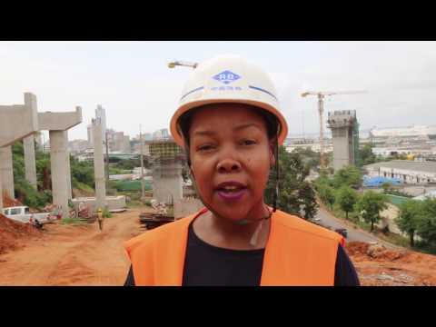 Nikiwe visits the giant Catembe Maputo Bridge Project