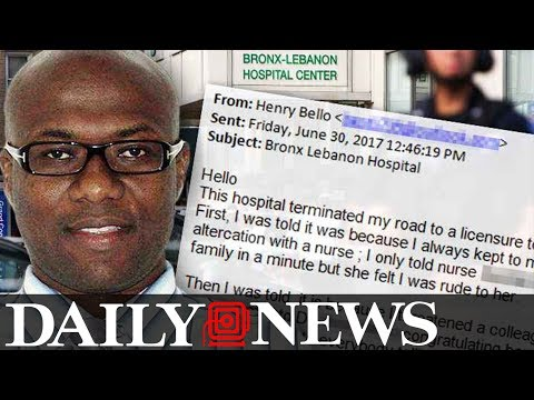 Bronx Hospital Shooter Emailed Daily News 2 Hours Before The Attack