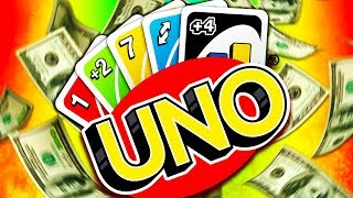 We Played UNO For Real Money!