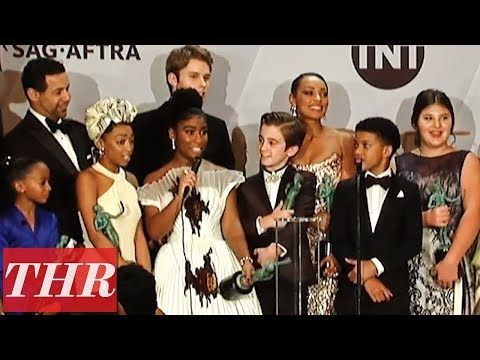 SAG Awards Winners For 'This Is Us' Full Press Room Speeches | THR