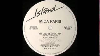 "Mica Paris - My One Temptation (U.S. 12"" Vocal)"