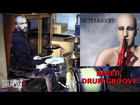 Tomas Haake - Meshuggah 'Bleed' Double Bass Drum Grooves