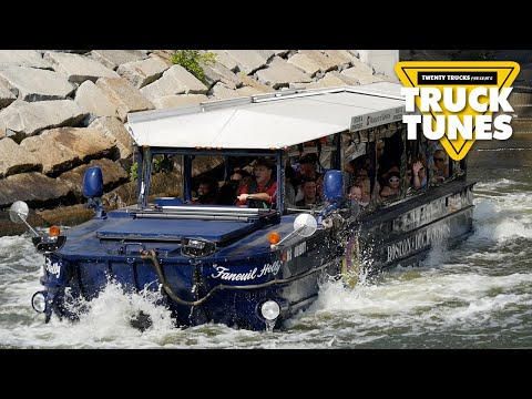 Duck Boat for Children | Kids Truck Video - Amphibious Transport