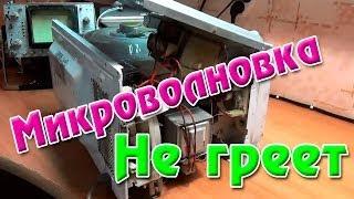 Микроволновка не греет(Принесли в ремонт микроволновую печь. Микроволновка не греет - сказал владелец и высыпал её мне под ноги.))..., 2014-06-11T14:22:32.000Z)