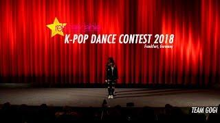 K-Pop Dance Contest 2018 - TEAM GOGI (Group) - Frankfurt, Germany